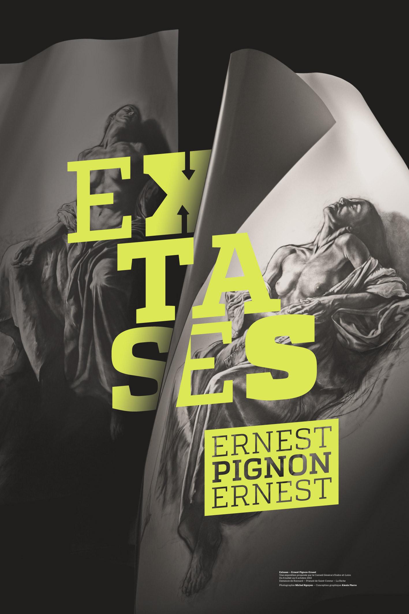 Extases Ernest Pignon-Ernest