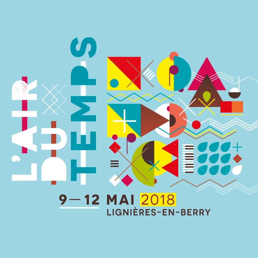 Festival l'Air du Temps 2018 visuel