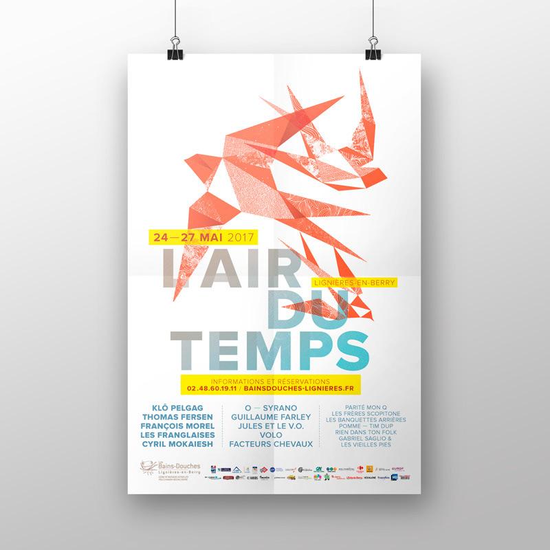 Festival l'Air du Temps 2017 affiche