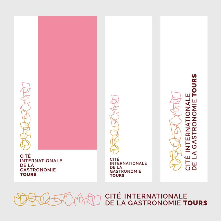 Cité de la Gastronomie - variantes de logotypes