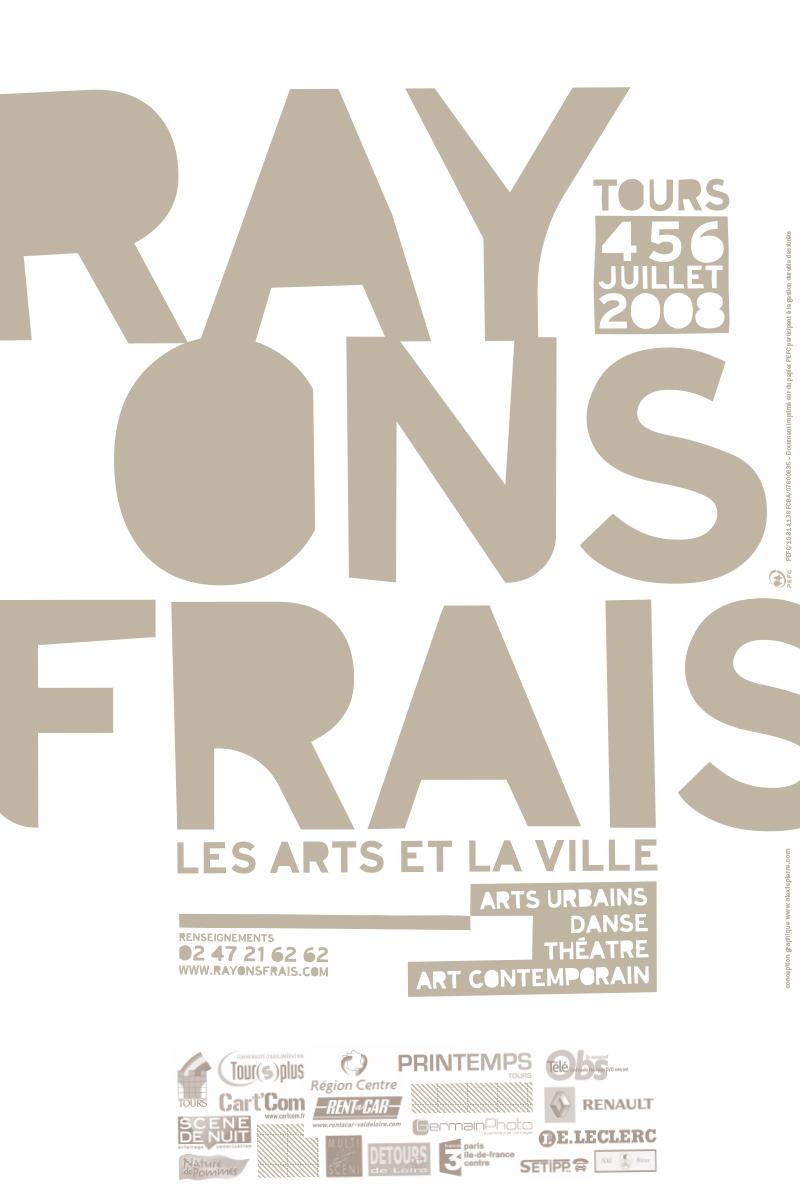 Rayons Frais 2008 affiche