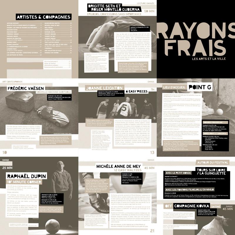 Rayons Frais 2008 programme