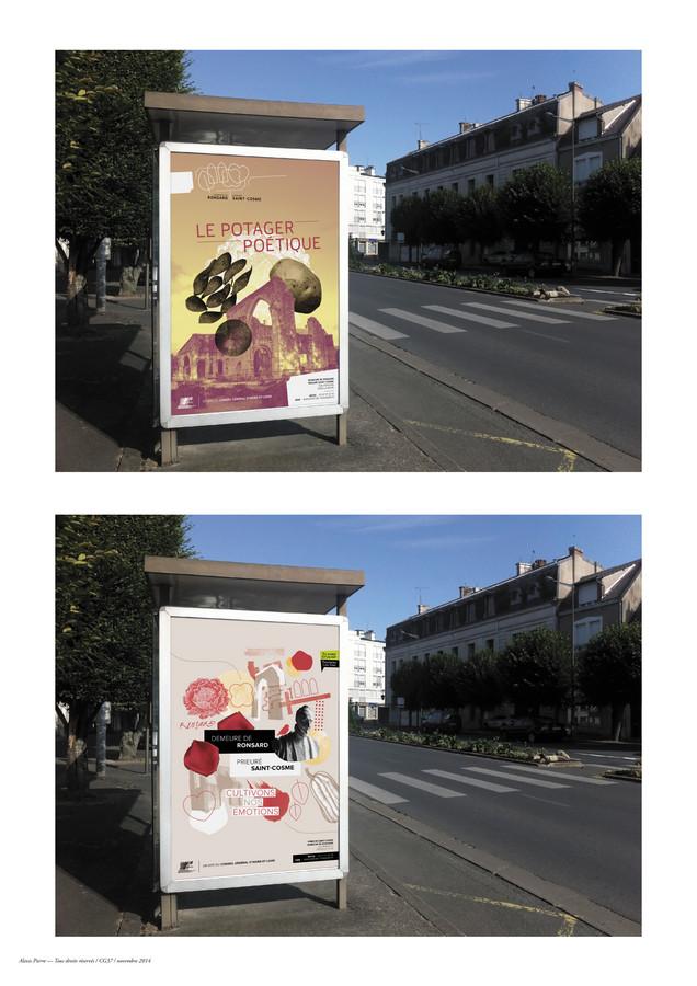 Prieuré Saint-Cosme affiche