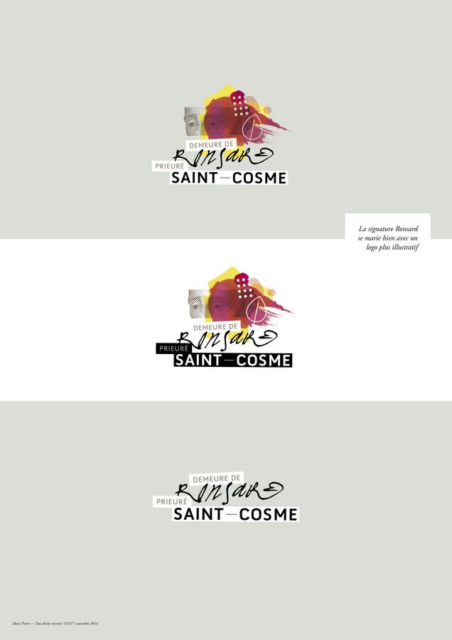 Prieuré Saint-Cosme logo